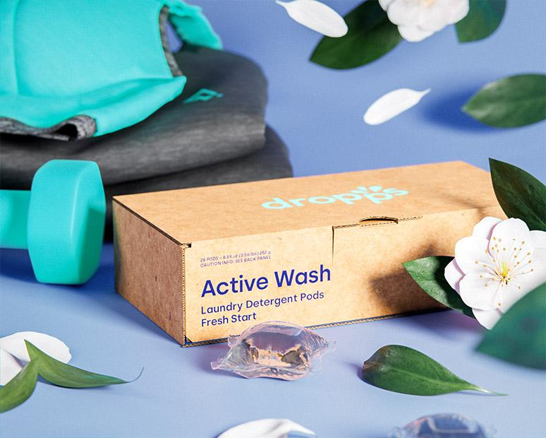 Active Wash Laundry Detergent Pods, Fresh Start