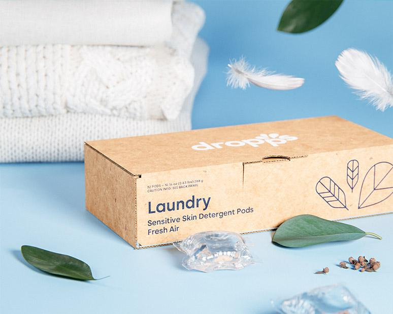 Sensitive Skin Laundry Detergent Pods, Fresh Air