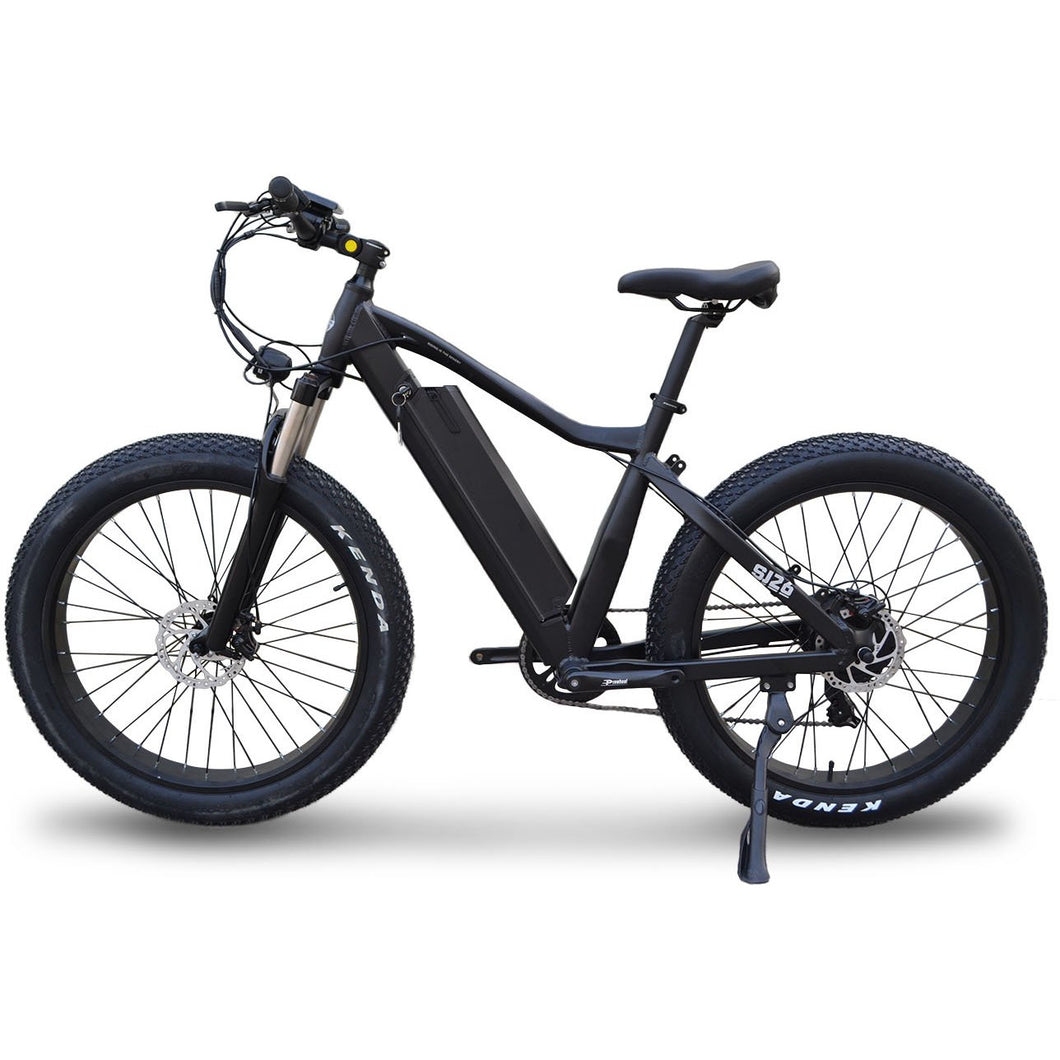 Dark Slate Gray Trail SJ26 Fat Tire E-bike