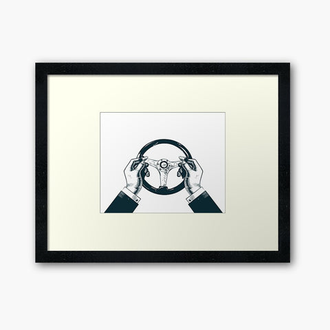 scBC Framed Icons Art Print