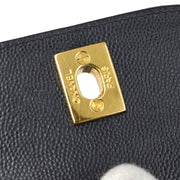 CHANEL Hand Bag Black Caviar Skin