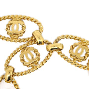 CHANEL Gold Chain Belt 24 Small Good