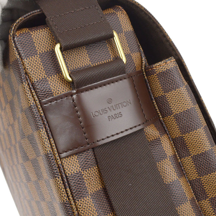 LOUIS VUITTON BROADWAY 2WAY BUSINESS HAND BAG DAMIER EBENE N42270