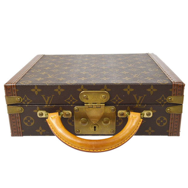 LOUIS VUITTON VINTAGE TRUNK HARD CASE MONOGRAM