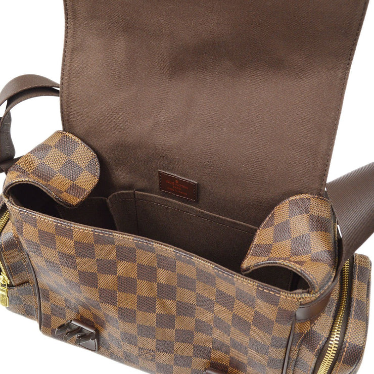 LOUIS VUITTON REPORTER MELVILLE SHOULDER BAG DAMIER EBENE N51126