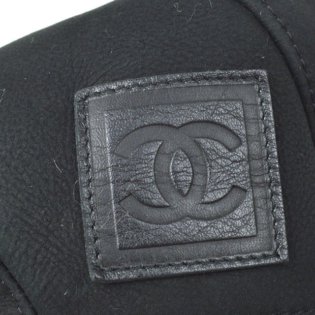CHANEL Hat Black SMALL GOOD