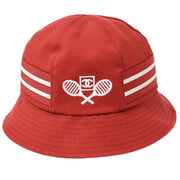 CHANEL Sport Line Hat Red #M Small Good