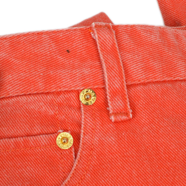 CHANEL Half Pants Red #36