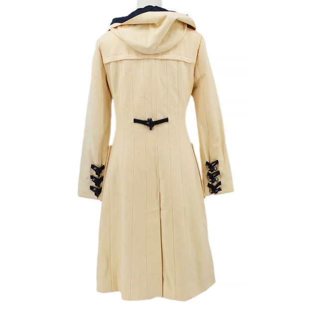 CHANEL 06A #40 Long Coat Ivory