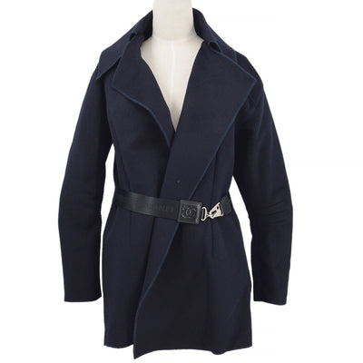 CHANEL 04A #40 Sports Line Jacket Navy