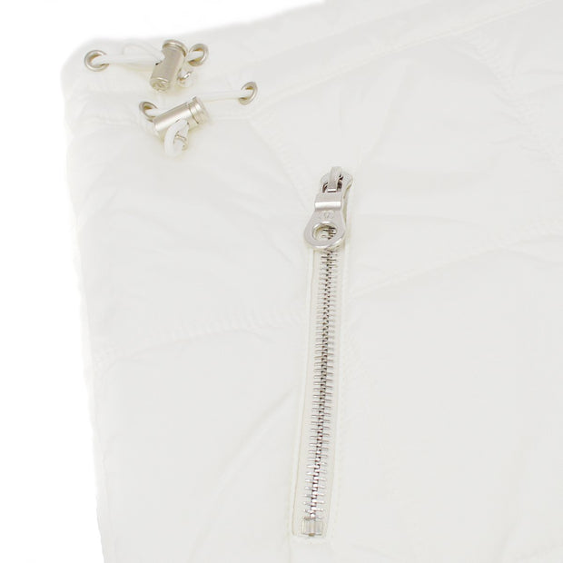 CHANEL 00A #36 Sports Line Skirt White