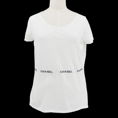 CHANEL 04P #46 Knit Tops White