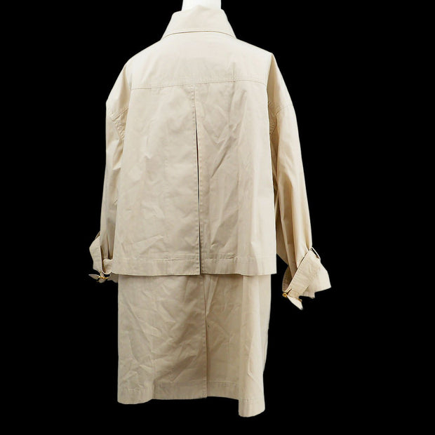 CHANEL Trench Coat Beige
