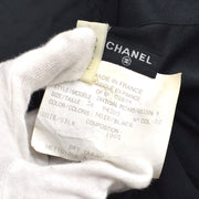 CHANEL 02894 #36 Front opening Shirt Black