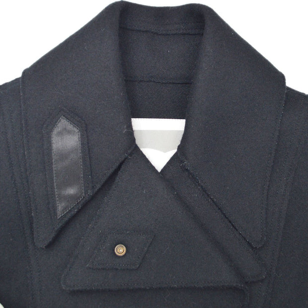 CHANEL 05A #36 Sports Line Double Breasted Jacket Black