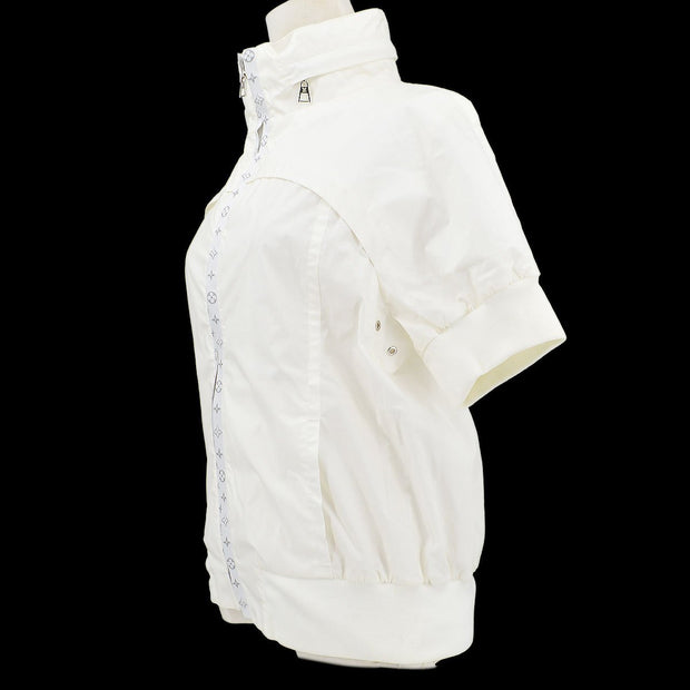 Louis Vuitton Zip-up Short Sleeve Jacket White #36