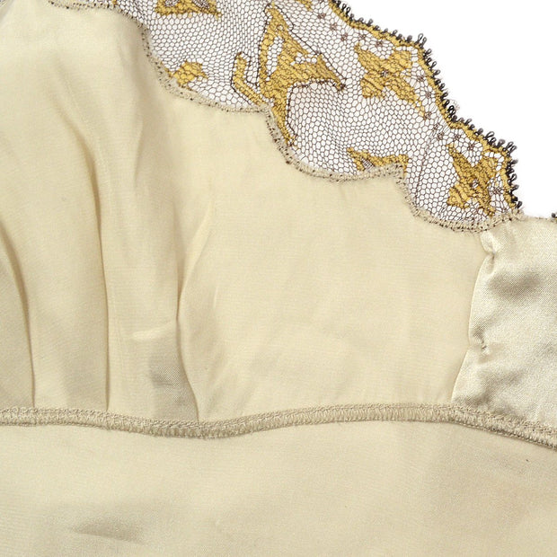 Louis Vuitton Camisole Tops Gold #36 Silk