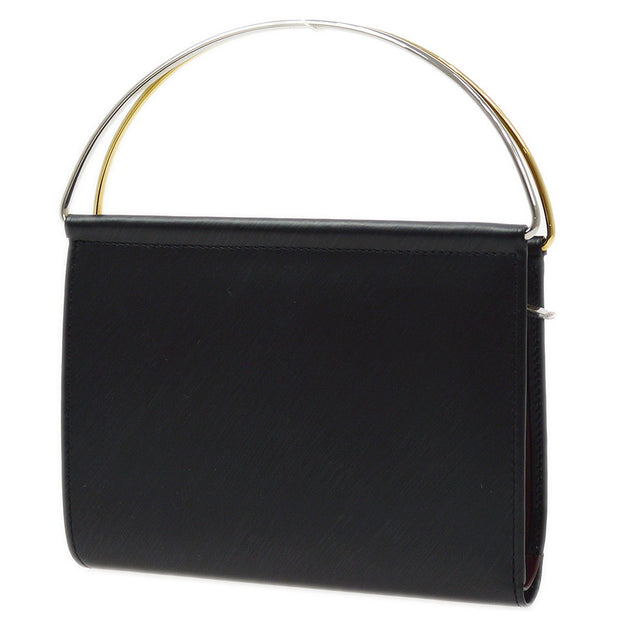 Cartier Trinity Mini Hand Bag Wallet Black