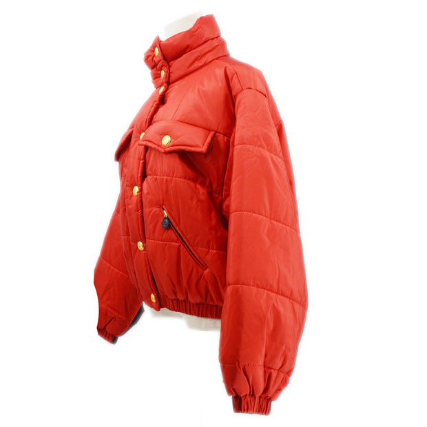 CHANEL Jacket Red #38