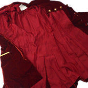 CHANEL Long Jacket Bordeaux 93A #40