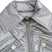 CHANEL Sports Line Jacket Gray 04A #36