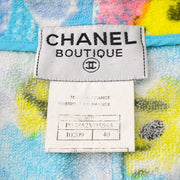 CHANEL Setup Sleeveless Skirt Light Blue #40