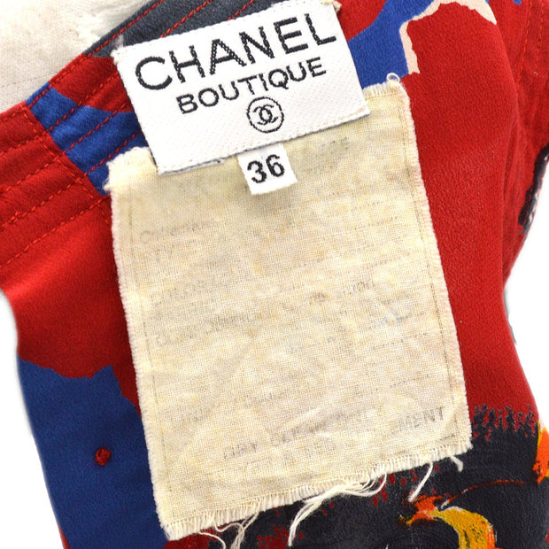 CHANEL Sleeveless Tops Red #36