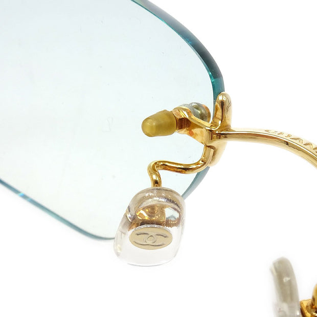CHANEL Reading Glasses Eye Wear Clear 54□18 130 Small Good