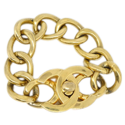 CHANEL Turnlock Gold Bracelet 95A