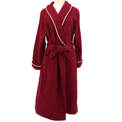 Christian Dior #L Robe Coat Red