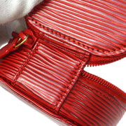 LOUIS VUITTON ECRIN BIJOU 8 JEWELRY CASE POUCH RED EPI M48227
