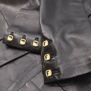 FENDI Single Breasted Jacket Black #40