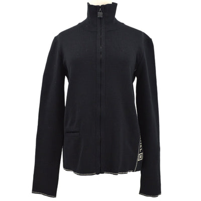 CHANEL Sports Line Jacket Black #42