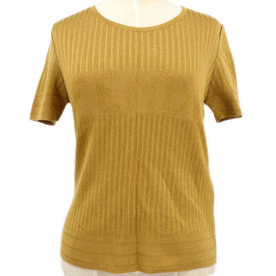 FENDI Tops Knit Brown #40