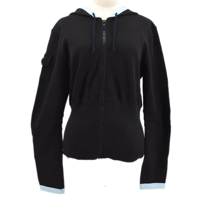 CHANEL Sports Line Jacket Black 03P #42