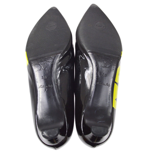 LOUIS VUITTON Graffit Pumps Shoes Black