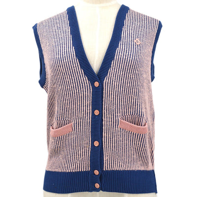 Christian Dior Sleeveless Tops Pink Blue #S