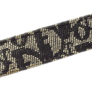 Christian Dior Trotter Pattern Belt Black #85