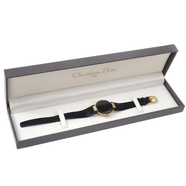 Christian Dior Bagheera Black Moon 46 153-4 Ladies Watch