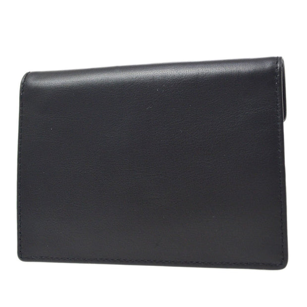 CHANEL Coin Card Case Wallet Black Small Good