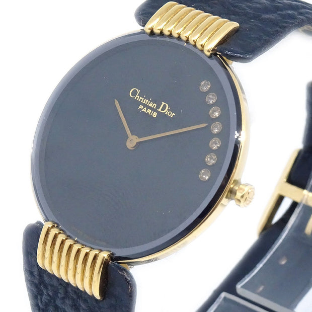 Christian Dior Bagheera Black Moon 47 153-2 Ladies Watch