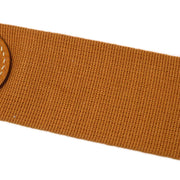 HERMES Shoulder Strap Brown Canvas Traurillon Clemence Small Good