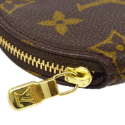 LOUIS VUITTON PORTE MONNAIE ROND COIN CASE WALLET M61926