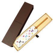 LOUIS VUITTON MARQUE PAGE CADEAU BOOKMARK MONOGRAM MULTICOLOR M99196 Small Good