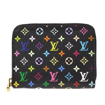 LOUIS VUITTON MONOGRAM MULTICOLOR ZIPPY COIN PURSE WALLET M60268