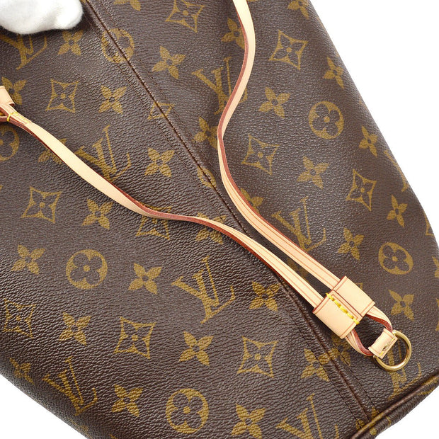 LOUIS VUITTON NEVERFULL MM HAND TOTE BAG MONOGRAM M40156