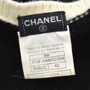 CHANEL 96A #42 Knit Tops Black