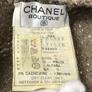 CHANEL 93A #38 Collarless Jacket Gray