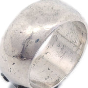 CHANEL Ring Silver Size #6.5