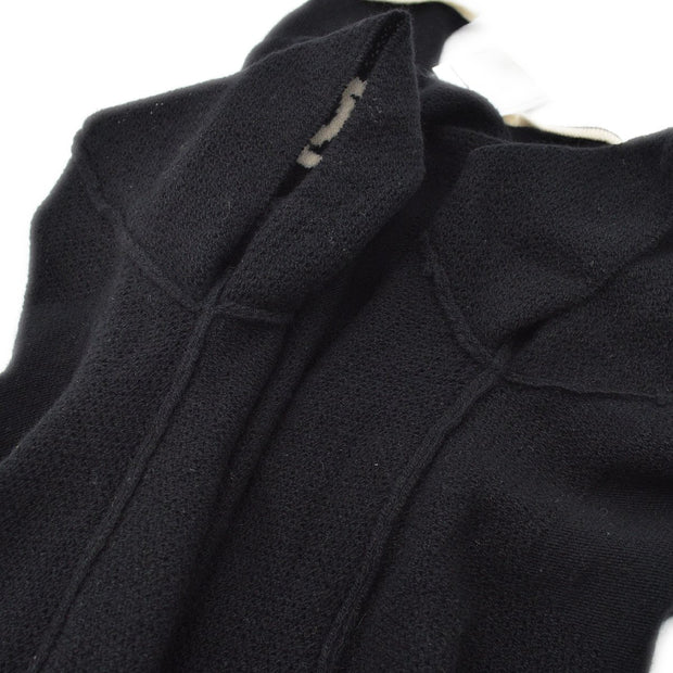 CHANEL 01C #42 Knit Tops Black